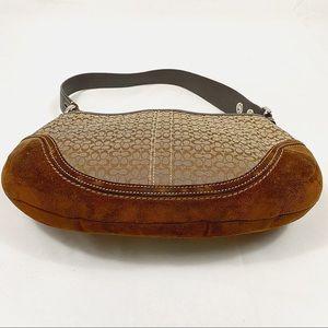 Coach Bags - COACH brown shoulder purse